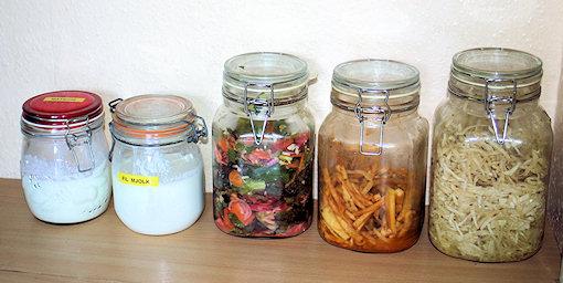 My own homemade fermented fruit and veg